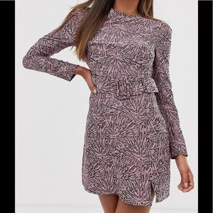 FASHION UNION | Abstract Print Dress